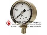 不锈钢膜盒压力表 上海仪表四厂
