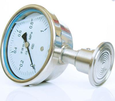 螺栓式隔膜压力表