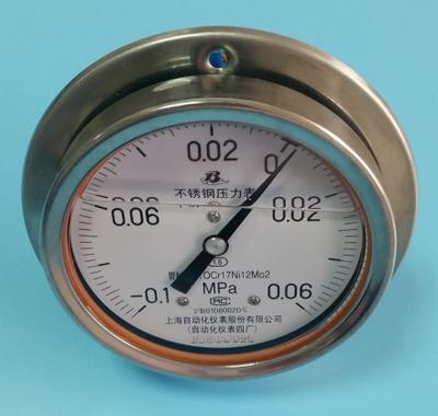 Y-103BFZ不锈钢压力表
